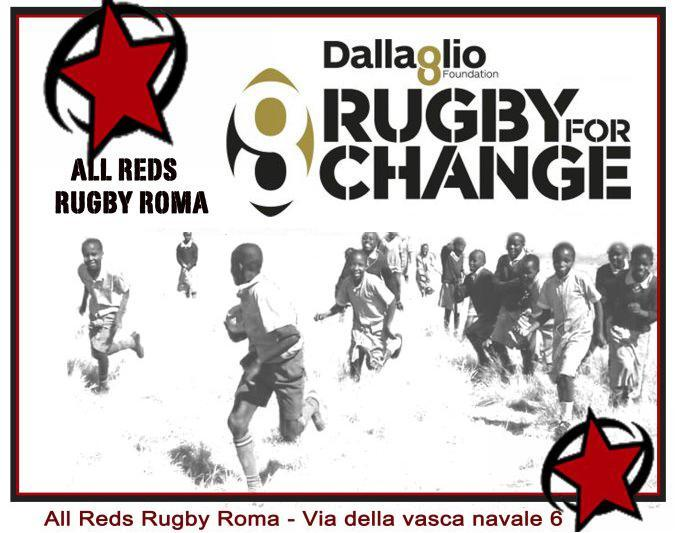 "1 e 2 Giugno | ""RUGBY FOR CHANGE"""