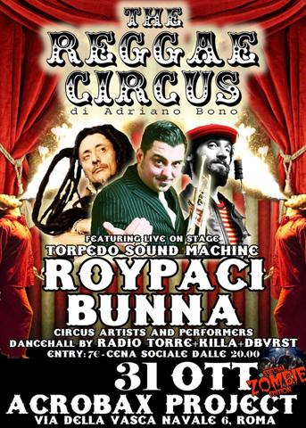31 Ottobre | The Reggae Circus