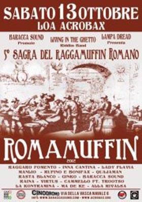 13 Ott | Romamuffin 2012
