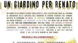 16 Novembre | Un giardino per Renato