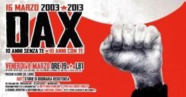 8-9-10 Marzo | Roma per Dax