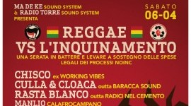 6 Aprile | Serata Noinc Reggae vs l'inquinamento