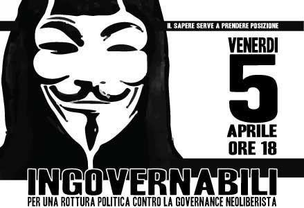 5 Aprile | Ingovernabili. Incontro con Maurizio Lazzarato