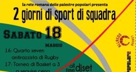 18-19 Maggio | Due giorni di sport popolare