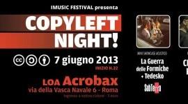 7 Giugno   Copyleft night!