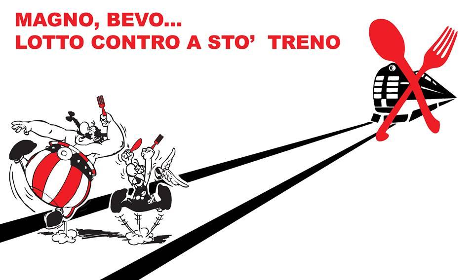 Mercoledì 29 Gennaio : cena a sostegno delle spese legali per i processi notav dei\delle compagn@ di Roma