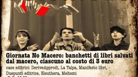 Domenica 16 Febbraio | Editoria in movimento: No Macero, No Tav