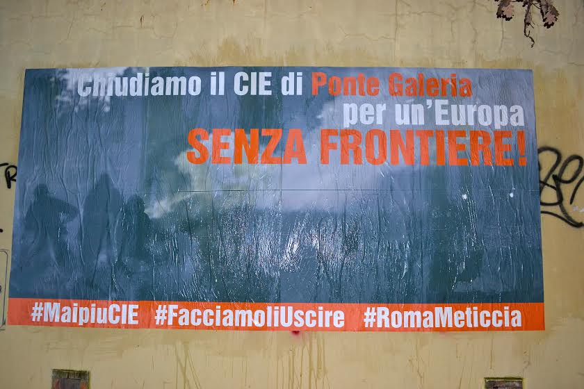 1 marzo Roma è meticcia! Chiudiamo il CIE di Ponte Galeria