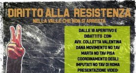 Sabato 5 Aprile | Diritto alla Resistenza, nella Valle che non si arresta