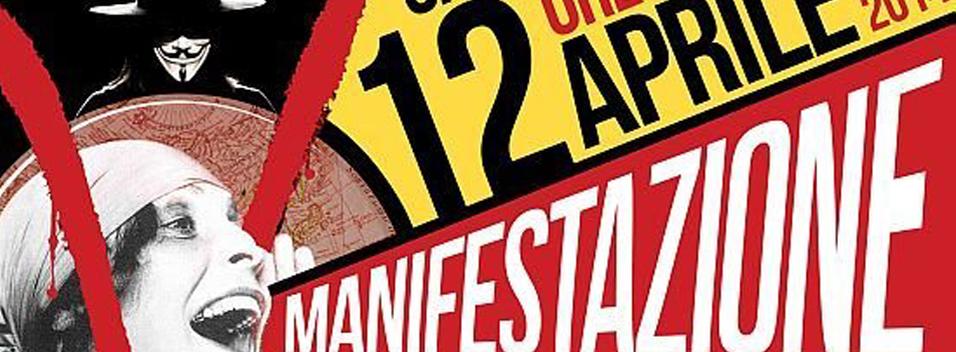 12 Aprile   Manifestazione contro l'austerity e il jobs act