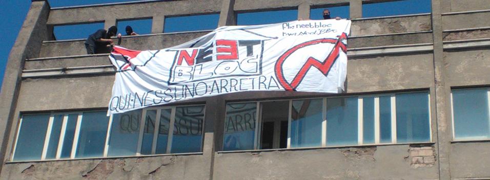 7 Aprile. Occupazione del Neet Bloc e sgombero immediato