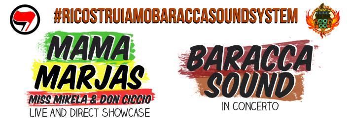 Sabato 5 Luglio | Mama Marjas Live Showcase & Baracca Sound in concerto