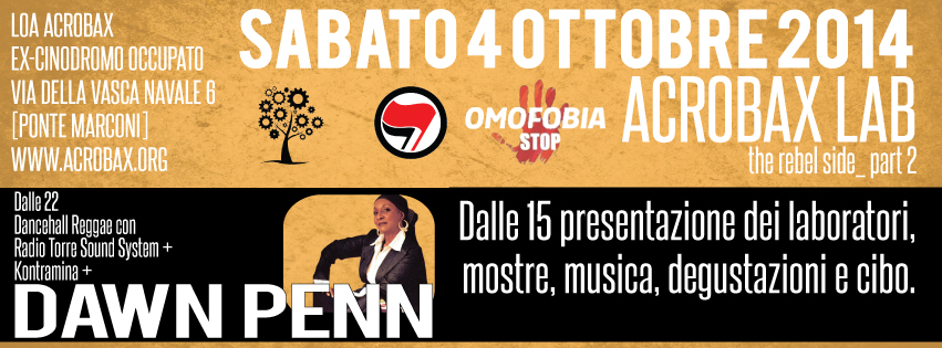 Sabato 4 Ottobre | The Rebel Side #3