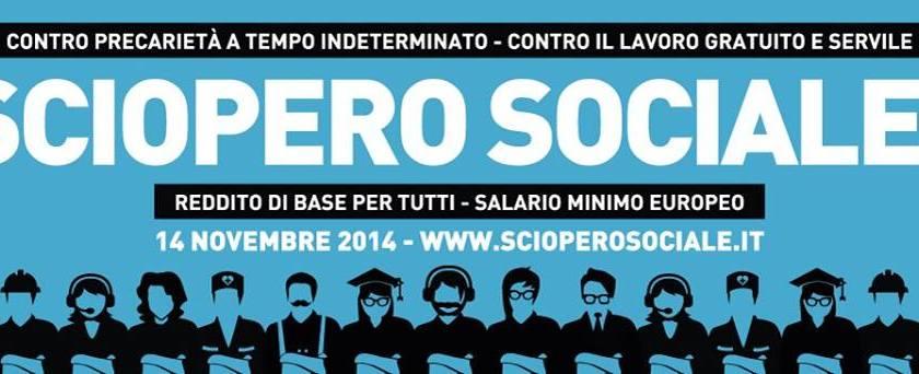 Verso lo sciopero sociale del #14N