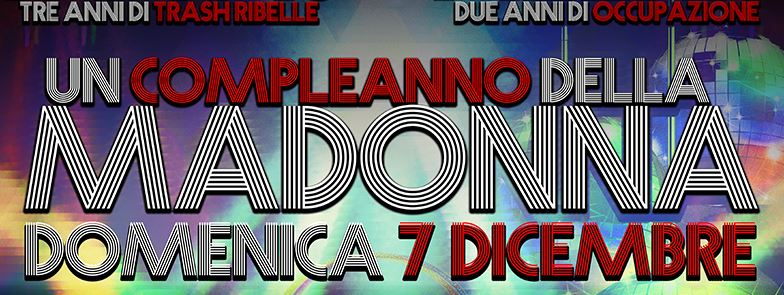 Domenica 7 Dicembre   Un compleanno della Madonna