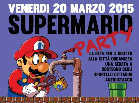 Venerdi 20 Marzo | Supermario party
