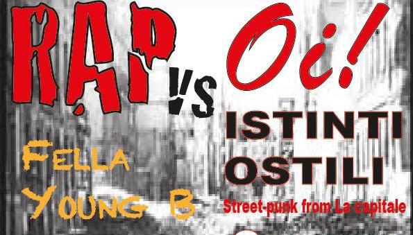 Venerdi 3 Aprile | Rap vs. Oi