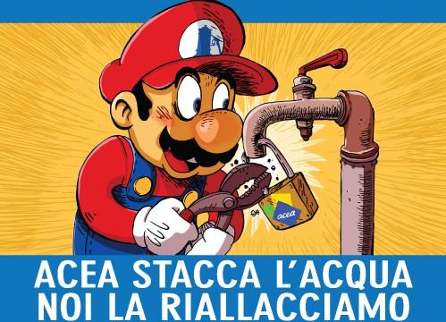 Super Mario di nuovo in azione contro i distacchi di ACEA
