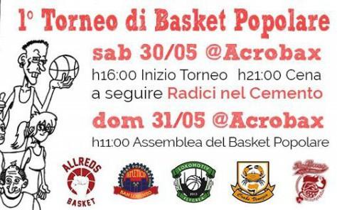 Sabato 30 - Domenica 31 Maggio | ZONA ROSSA - Primo raduno nazionale del basket popolare