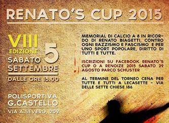 RENATO'S CUP 2015 - TORNEO di CALCIOTTO