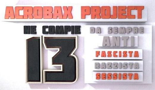 19-22 Novembre | Acrobax Project compie 13 anni, gli All Reds ne fanno 11