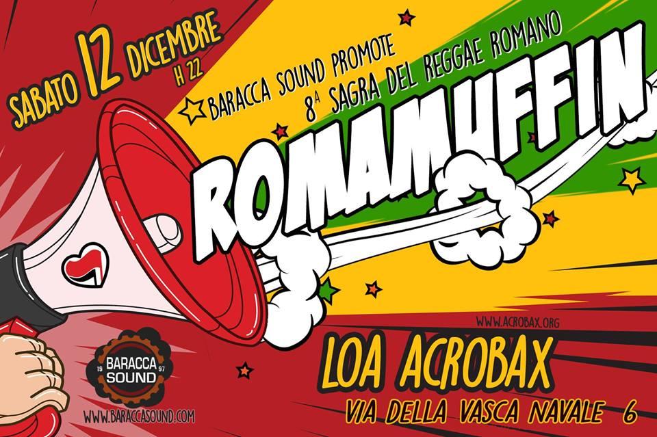 Sabato 12 Dicembre | ROMAMUFFIN 2015 - 8^ SAGRA DEL REGGAE ROMANO