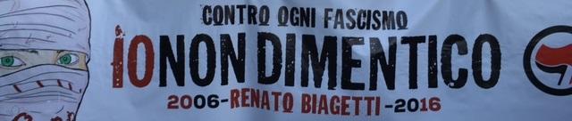 Giovedì 3 Marzo/Assemblea #IoNonDimentico Renato Biagetti Verso Il 25 Aprile