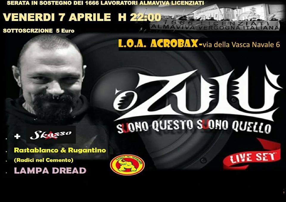 Venerdì 7 Aprile/Almaviva vergogna italiana
