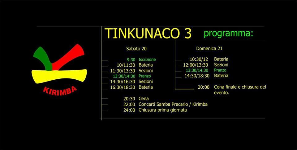 Sabato 20 e Domenica 21 Maggio / Tinkunaco terza edizione