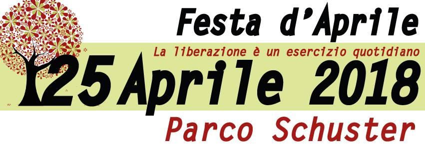 Mercoledì 25 aprile/ Festa di liberazione a Parco Schuster