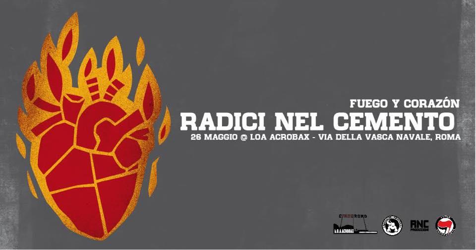 Sabato 26 Maggio/Fuego Y Corazòn