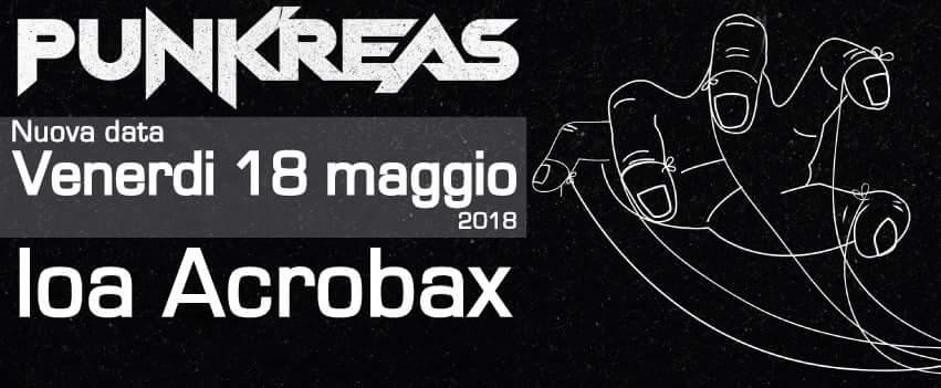 Venerdì 18 Maggio/ Punkreas in concerto