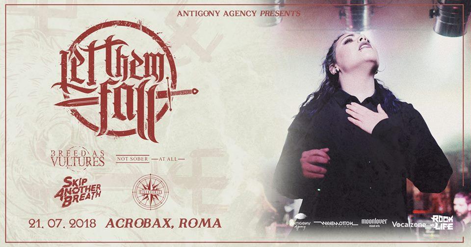 Sabato 21 Luglio/Metalcore NIGHT #1 - Let Them Fall • Guests Roma