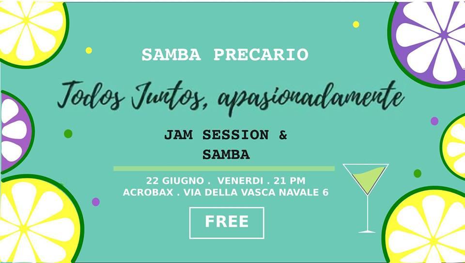 Venerdì 22 giugno/Todos Juntos apasionadamente