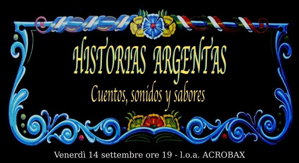 Venerdì 14 settembre/ Serata argentina