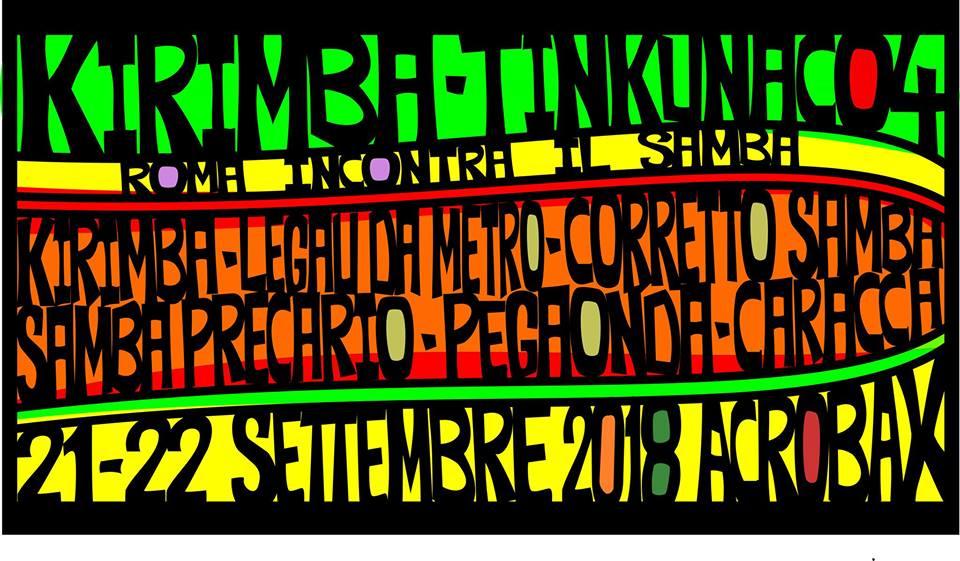 Venerdì 21 settembre/ Tinkunako 4 Roma incontra il Samba