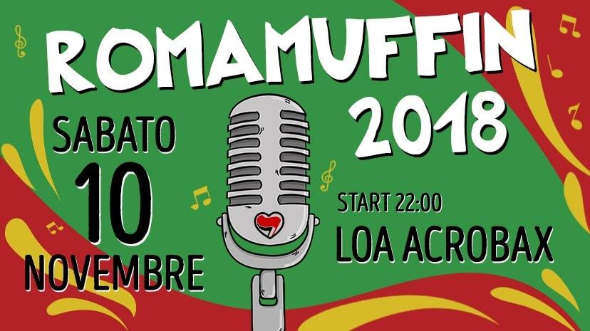 Sabato 10 novembre/Romamuffin 2018-11^ Sagra del Reggae Romano ad Acrobax