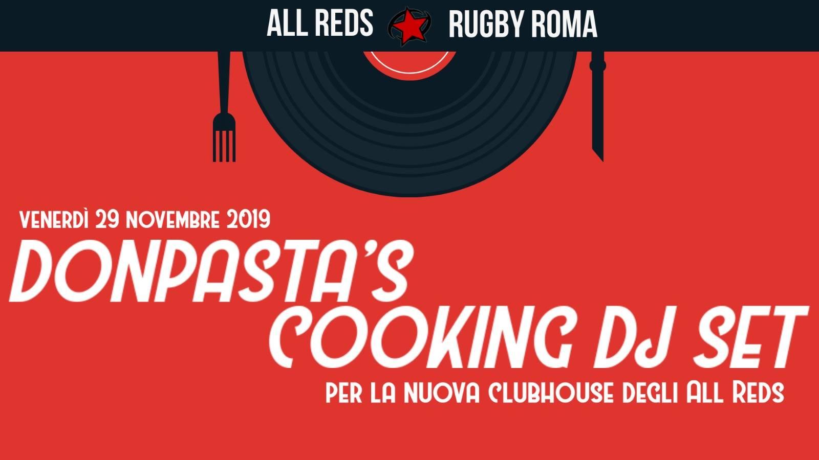 Venerdì 29 novembre/Donpasta Cooking DJ SET