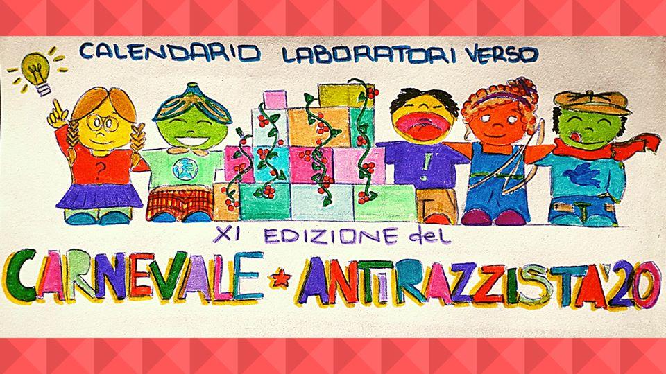 Venerdì 7 Febbraio/Laboratori verso il Carnevale Antirazzista 2020