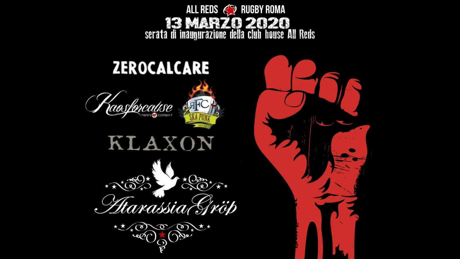 Venerdì 13 Marzo/ClubHouse Ribelle