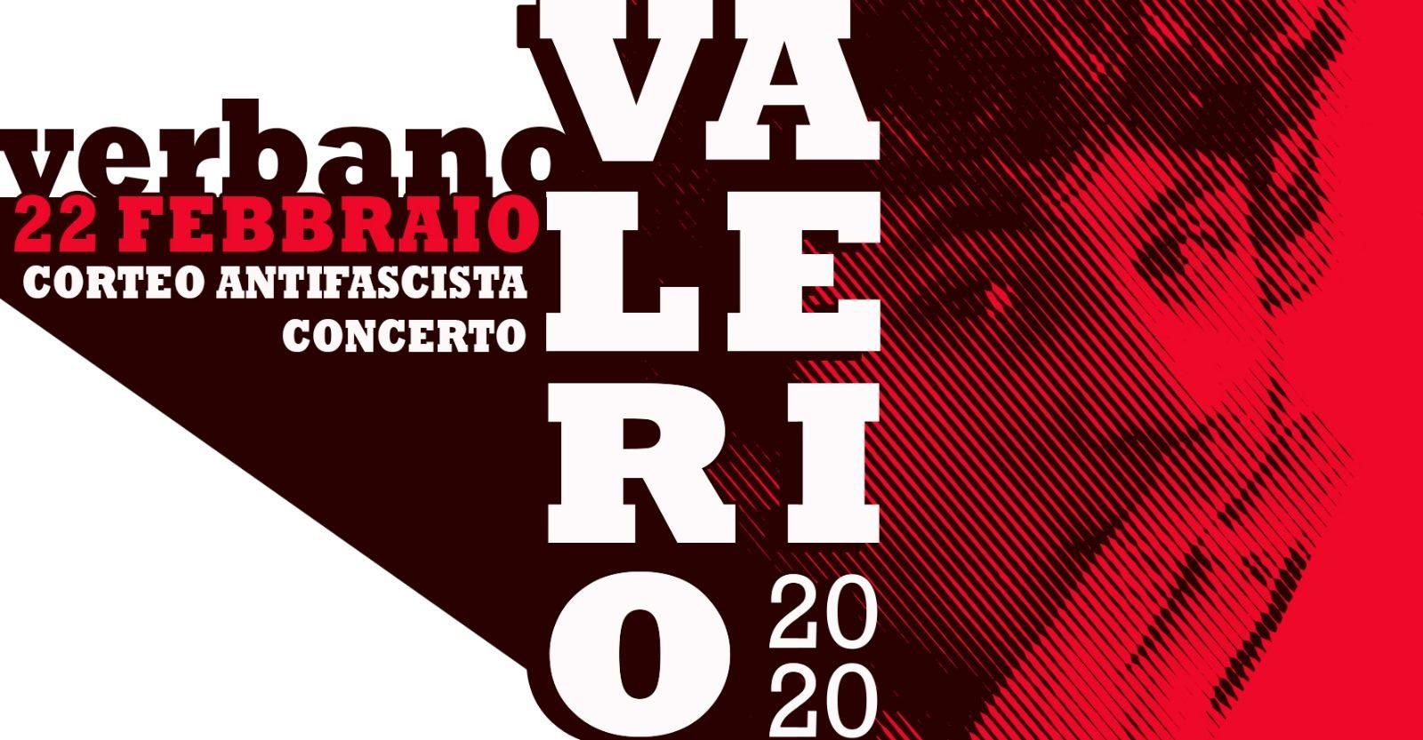 Sabato 22 Febbraio/ Valerio Vive