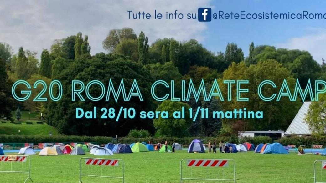 Giovedì 28 ottobre/ Roma Climate Camp durante il G20